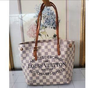 Louis Vuitton Cabas Adventure PM Azur Tote